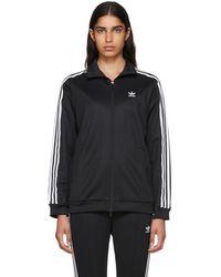 adidas Originals - Black Contemp Bb Track Jacket - Lyst