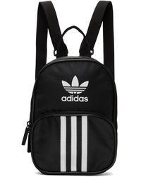 adidas Originals ブラック ミニ Santiago バックパック