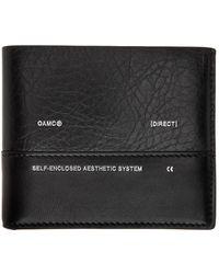 OAMC Black Medi Bifold Wallet