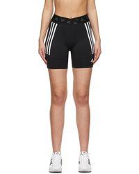 adidas Originals - ブラック サイクリング ショーツ - Lyst