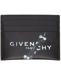 Givenchy ブラック Trompe L'oeil カード ケース
