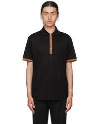 Paul Smith ブラック ポロシャツ