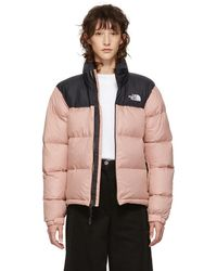 The North Face - Pink Down 1996 Retro Nuptse Jacket - Lyst