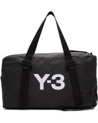 Y-3 ブラック バンジー ジム バッグ