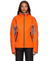 GR10K Windstopper Skeleton Jacket - Orange