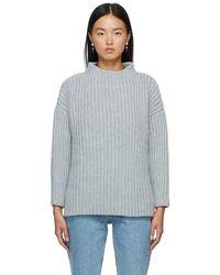 Baserange グレー リサイクル ウール Mea セーター - マルチカラー