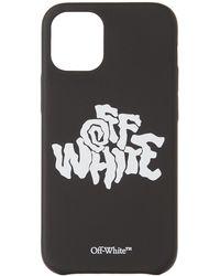 Off-White c/o Virgil Abloh ブラック ロゴ Iphone 12 Mini ケース