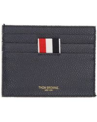 Thom Browne - Navy Note Four-bar Card Holder - Lyst
