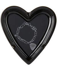 Stolen Girlfriends Club Death Metal Bracelet Heart Ashtray - Black