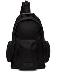 Juun.J Sling Backpack - Black