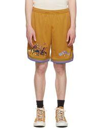 Converse Beige Bandulu Edition Basketball Shorts - Natural