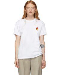 AMI Smiley Edition ホワイト T シャツ