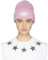 b8a9cb95c47 Givenchy Beanie With Patch in Yellow