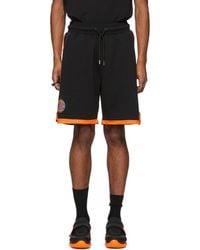 Marcelo Burlon - Black Nba Edition Knicks Shorts - Lyst