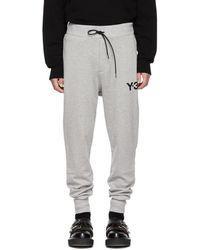 Y-3 - Grey Classic Cuff Lounge Pants - Lyst