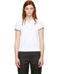 Moncler ポロシャツ - ホワイト