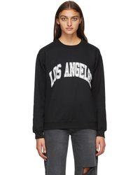 Noon Goons All City 'los Angeles' Sweatshirt - Black