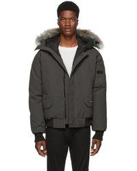 Canada Goose Grey Chilliwack Jacket - Gray