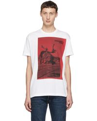 DSquared² - White Dyed Cool Fit T-shirt - Lyst