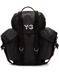 cfc51f2befec Y-3 Ultratech Reflective Backpack in Black for Men - Lyst