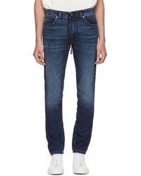 DIESEL - Navy Thommer Jogg Jeans - Lyst