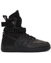 Nike - Black Sf Air Force 1 High-top Sneakers - Lyst