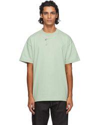 Jacquemus グリーン Le T-shirt Olive T シャツ