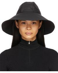 Moncler Genius 6 Moncler 1017 Alyx 9sm Wide Brim Beach Hat - Black