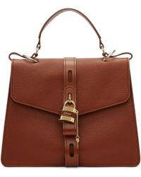 Chloé Brown Large Day Briefcase