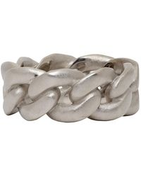 Maison Margiela - Silver Chain Ring - Lyst