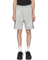 DSquared² - Grey Destroyed Shorts - Lyst