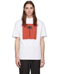 Palm Angels - ホワイト ビッグ Palm × Palm T シャツ - Lyst