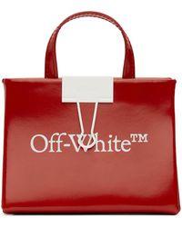Off-White c/o Virgil Abloh レッド ベビー ボックス バッグ