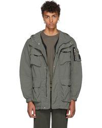 Belstaff - Green Pallington Hooded Jacket - Lyst
