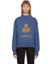 Étoile Isabel Marant ブルー Moby スウェットシャツ