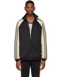 Gucci Oversized Technical Jersey Jacket - Black