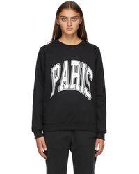 Noon Goons 'paris' Sweatshirt - Black