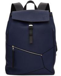 Loewe - Blue Puzzle Backpack - Lyst