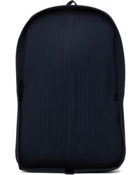 Homme Plissé Issey Miyake Pleats Daypack Backpack - Blue