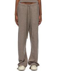Extreme Cashmere Pantalon de survêtement N°142 Run taupe - Multicolore