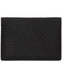 Éditions MR - Black Leather Card Holder - Lyst