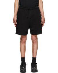 424 Black Logo Shorts