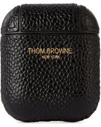 Thom Browne ブラック ペブル Airpods ケース