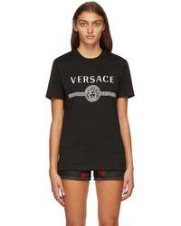 Versace - ブラック Medusa T シャツ - Lyst