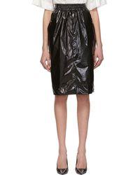 Kwaidan Editions Jupe noire Rubbish Plastic