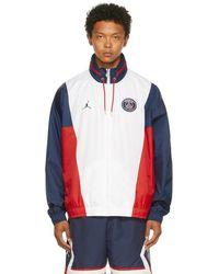 Nike Paris Saint-germain エディション ホワイト ジャケット