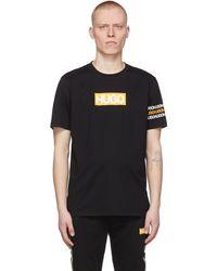 HUGO ブラック Dake T シャツ
