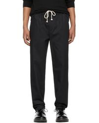 Fanmail - Black Cotton Trousers - Lyst