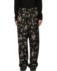 Haider Ackermann - Black Freesia Pyjama Trousers - Lyst