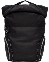 Diesel Black Gold - Black Hiking Backpack - Lyst